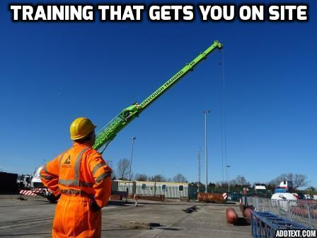 Training that gets you on site