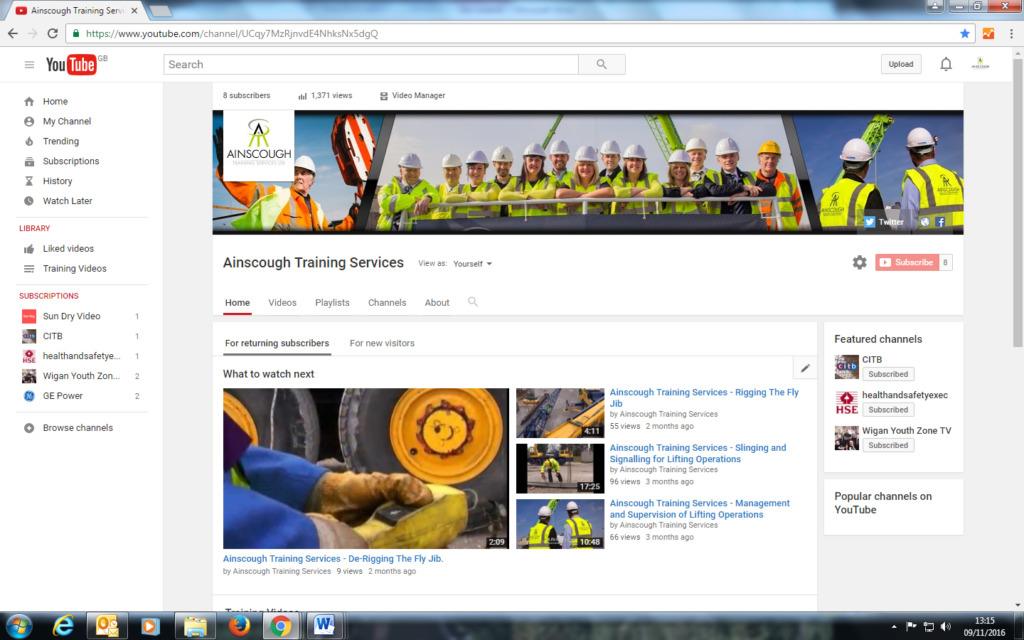 Youtube 09.11.2016